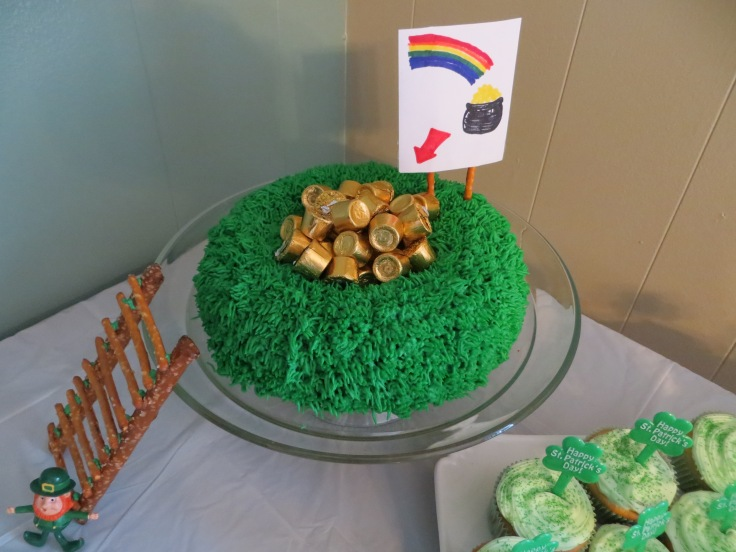 Leprechauns beware...this cake's for you!