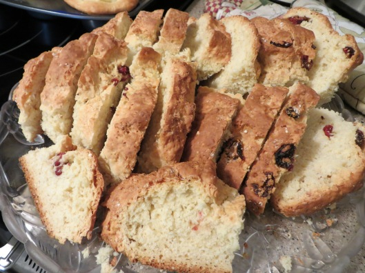 A not-so-traditional Irish Soda Bread...couldn't resist the currants!