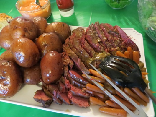 What's St. Patrick's Day without Corned Beef, Cabbage and Potatoes?!